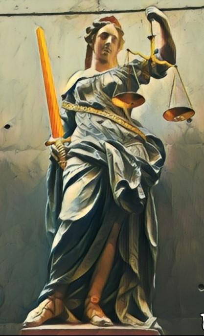 strafrecht advocaat vrouwe justitia